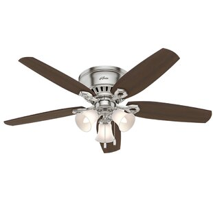 Ceiling fans youll love wayfair 52 builder low profile 5 blade ceiling fan aloadofball Image collections