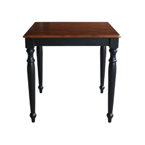 Adeline Counter Height Pub Table with Turned Legs by August Grove