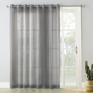 beautiful inches glass for door single curtain curtains sliding panel