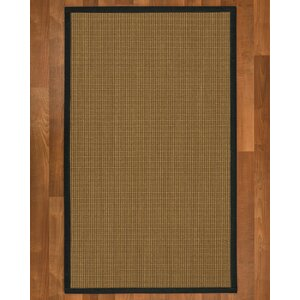 Asther Hand Woven Brown Area Rug