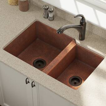 Sinkology 33 25 L X 18 5 W Double Bowl Kitchen Sink Reviews