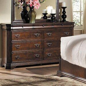 Karla 9 Drawer Standard Dresser by Woodhaven Hill