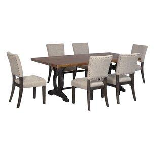 Teesha Solid Wood Dining Table