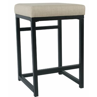 Corinna Metal Open Back 24 Bar Stool