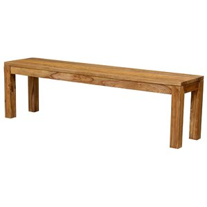 Berrilee Wood Bench by Loon Peak
