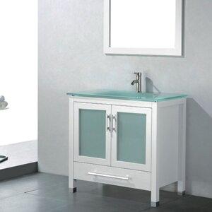 Amara 36″ Single Bathroom Vanity Set with Mirror