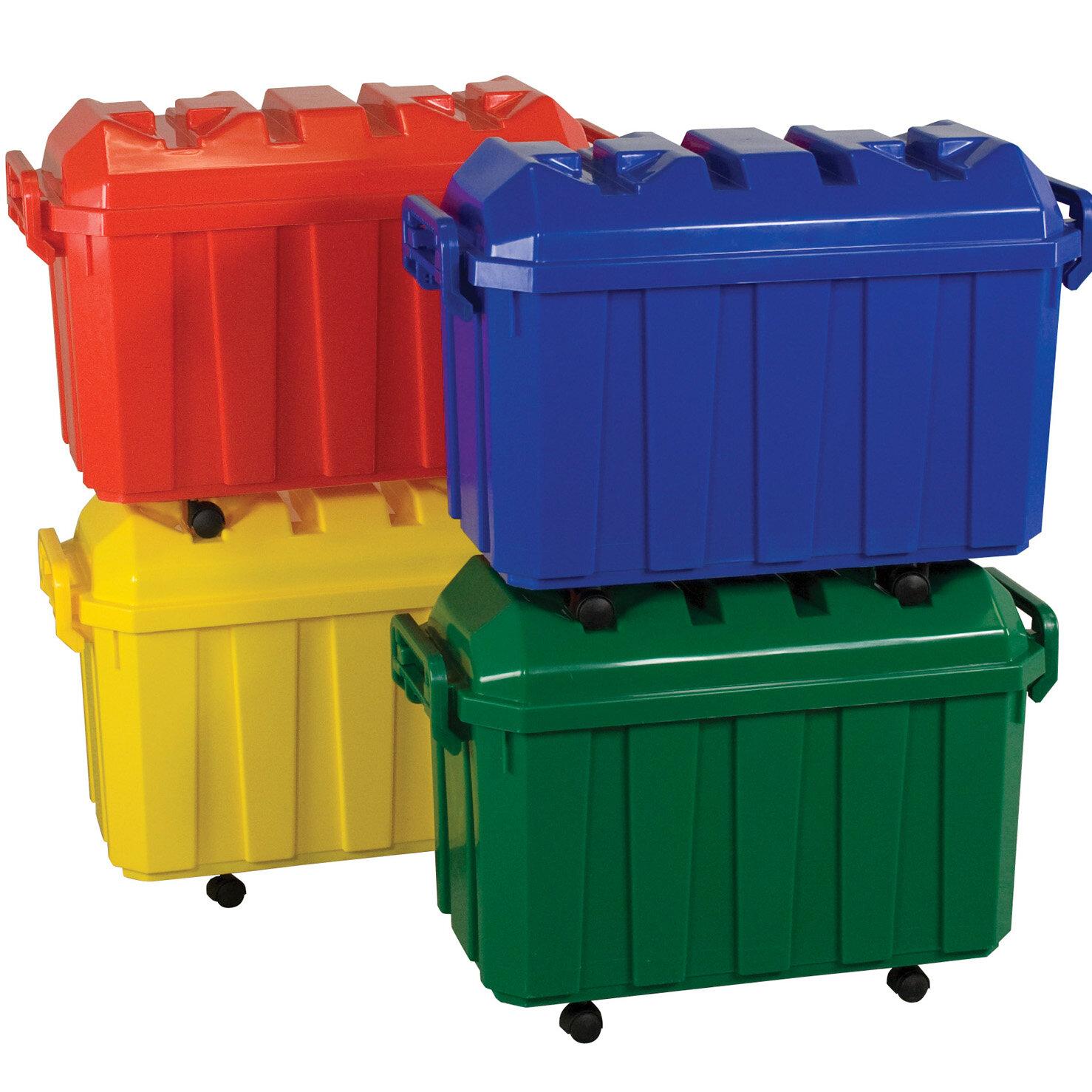 Offex Stackable Trunk Storage Toy Organizer | Wayfair