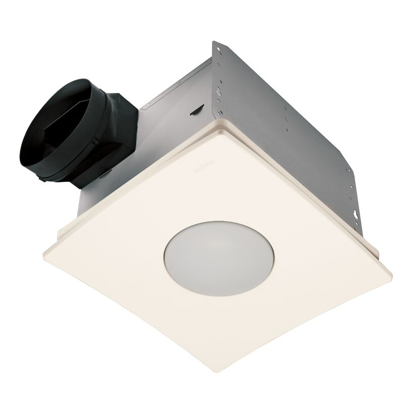 Ultra Silent Quietest Bathroom Fan with Fluorescent Light - Energy Star