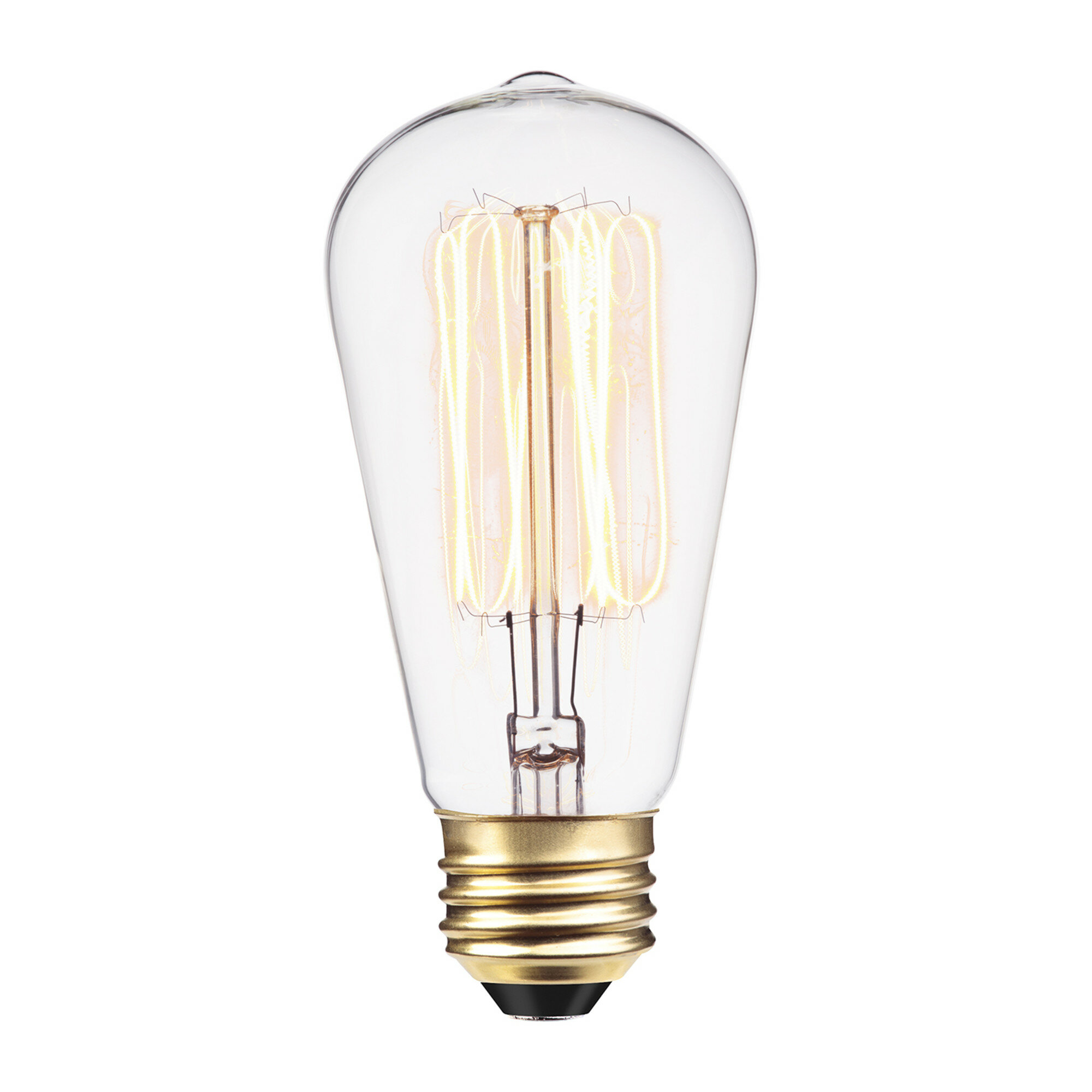 01324 40 Watt A19 Incandescent Dimmable Light Bulb Warm White 2700k E26 Base