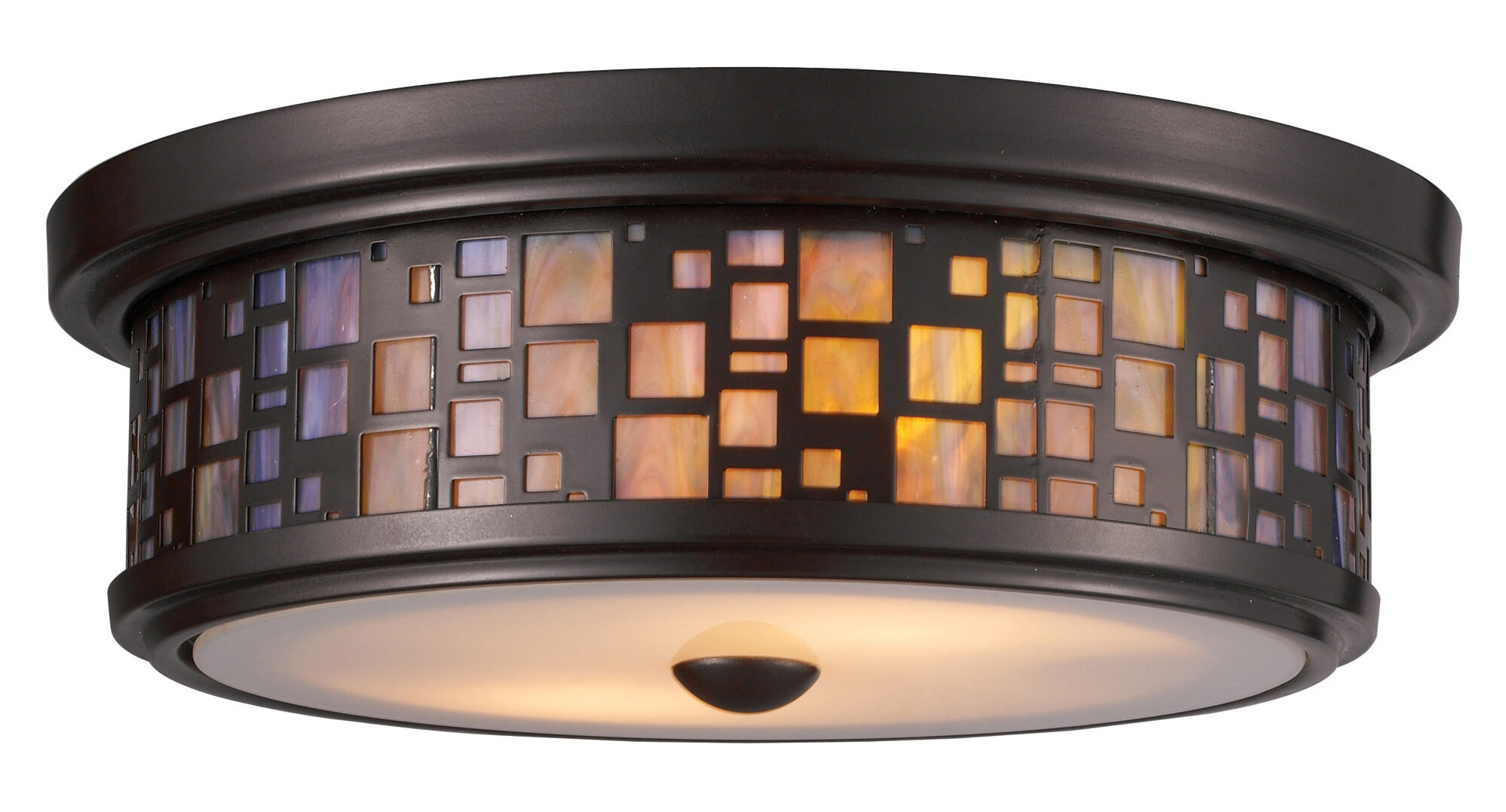 Red barrel studio clara 2 light flush mount reviews wayfair