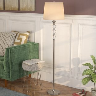 Shipton Crystal And Metal 61 5 Floor Lamp