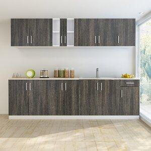 9-tlg. Küchenschränke-Set von Home Etc