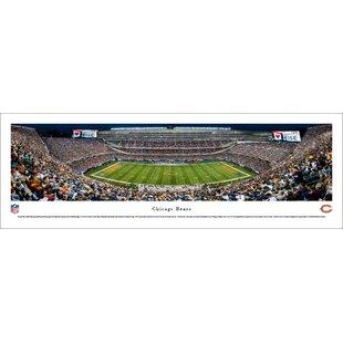 67384d371f3 NFL Chicago Bears 50 Yard Night Photographic Print