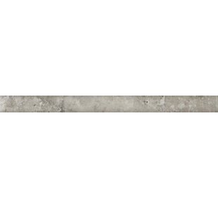 Natural Stone 12 X 1 Travertine Pencil Liner Tile Trim In Silver