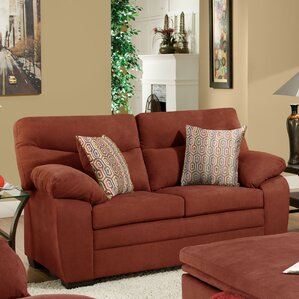 Simmons Upholstery Stephen Loveseat by Red B..