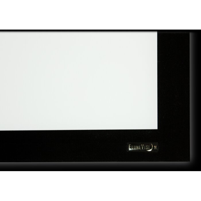 Elunevision Perlux-Silver Fixed Frame Projection Screen | Wayfair.ca