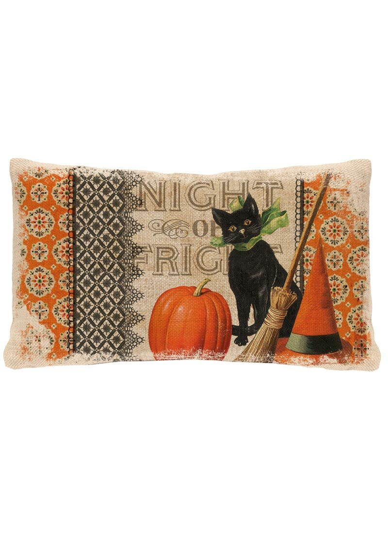 heritage lace victorian halloween lumbar pillow cover & reviews