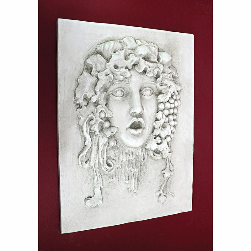 Design Toscano Medium Vappa and Goddess of the Grapes Italian Wall ...