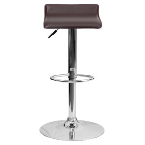Claudine Adjustable Height Swivel Bar Stool
