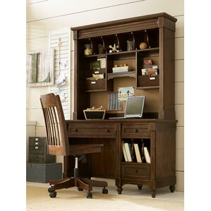 Big Sur By Wendy Bellissimo Dividers Desk with Hutch by LC Kids