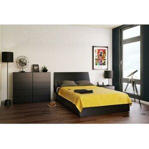 Chelsey Platform Customizable Wood Bedroom Set