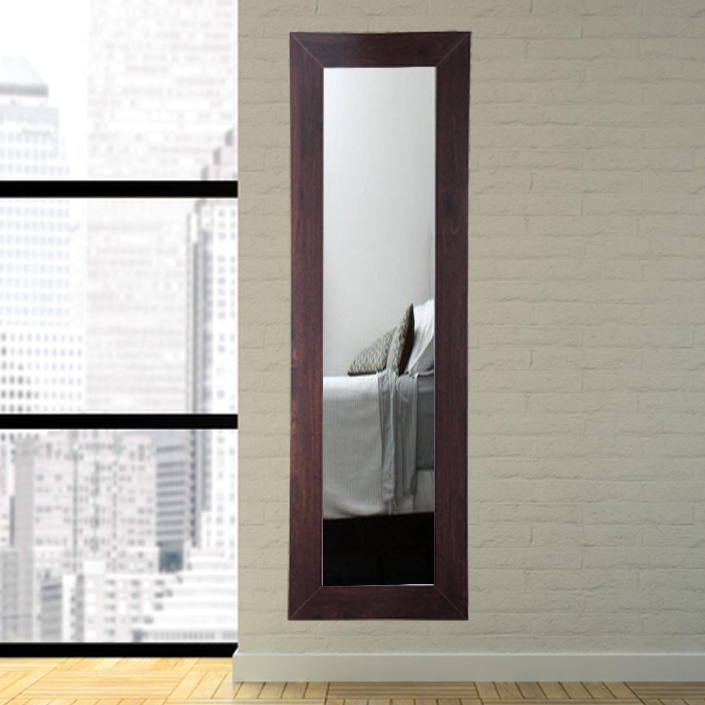 BrandtWorksLLC Designers Choice Walnut Tall Floor Mirror   Wayfair