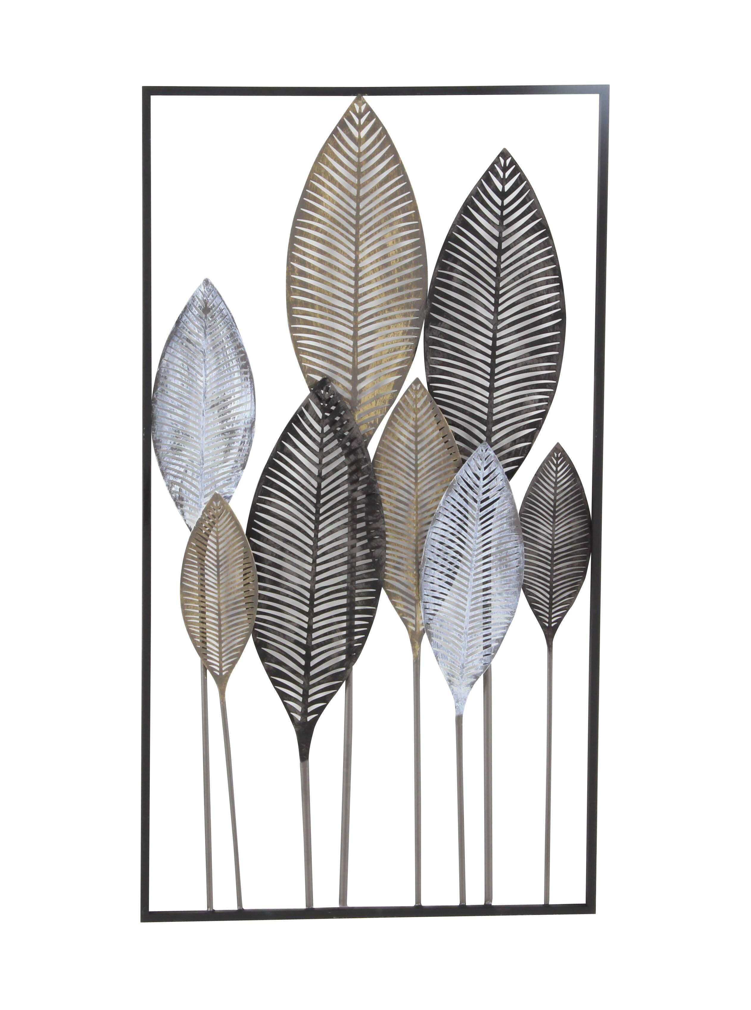 Metal Leaf Wall Dcor Reviews Allmodern