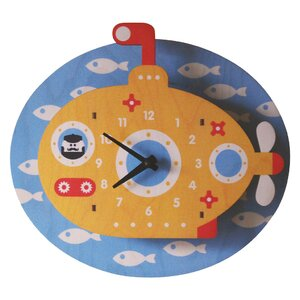Periscope Wall Clock
