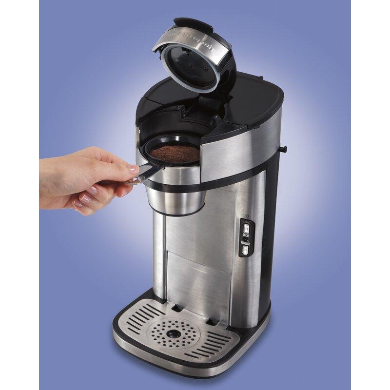 Hamilton Beach The Scoop Single Serve Coffee Maker