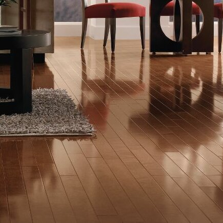 Armstrong Flooringmetro Clics 3 Engineered Yellow Birch Hardwood Flooring In Mocha