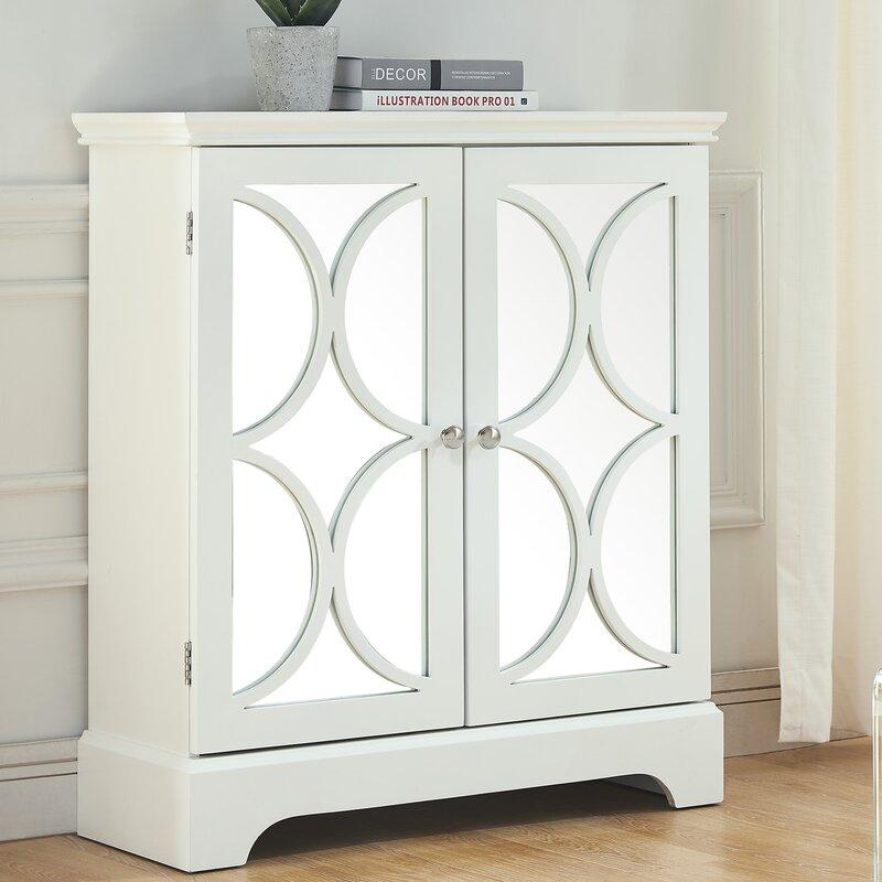 Melfa Mirrored Accent Cabinet