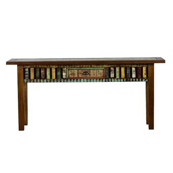 Fantastic World Menagerie Dunnygarran 39 3 Solid Wood Console Table Beutiful Home Inspiration Cosmmahrainfo