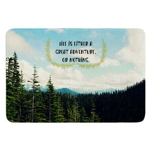 Life Is... by Robin Dickinson Bath Mat
