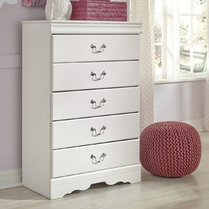 Kurt 5 Drawer Chest by Harriet Bee