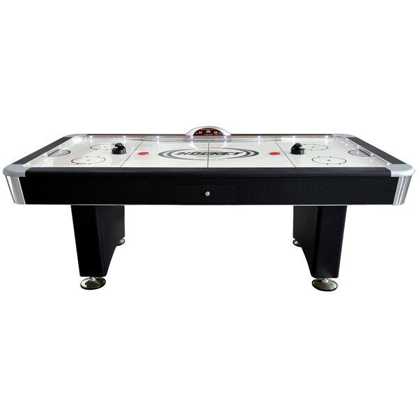 hathaway games 75u0027 air hockey table with docking station u0026 reviews wayfair - Air Hockey Tables