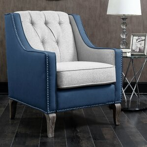 Darby Home Co Kaven Linen Armchair