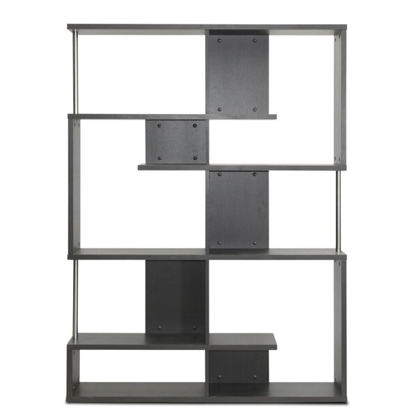 Ebern Designs Spicer Geometric Bookcase