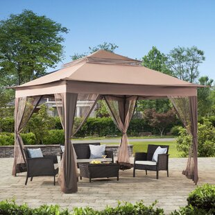 10 Ft W X D Steel Patio Gazebo
