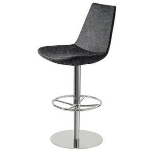 Shinkle Piston Adjustable Height Swivel Bar Stool #1
