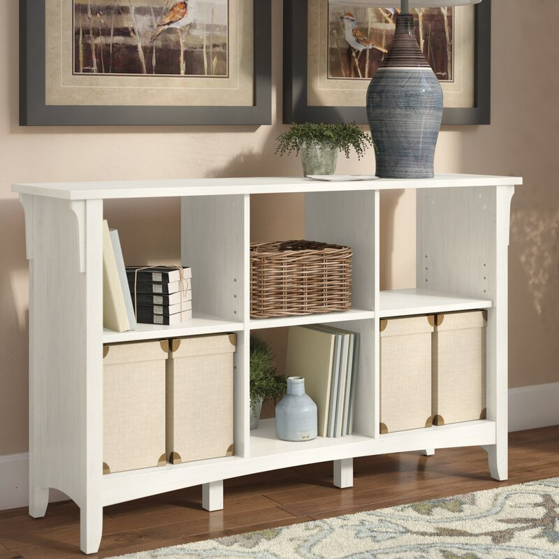 Broadview Cube Unit Bookcase in Antique White - Three Posts Broadview Cube Unit Bookcase In Antique White & Reviews