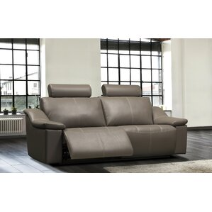 Colbie Leather Reclining Sofa by Relaxon