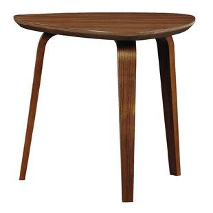 Charmant Bradbury Triangular End Table