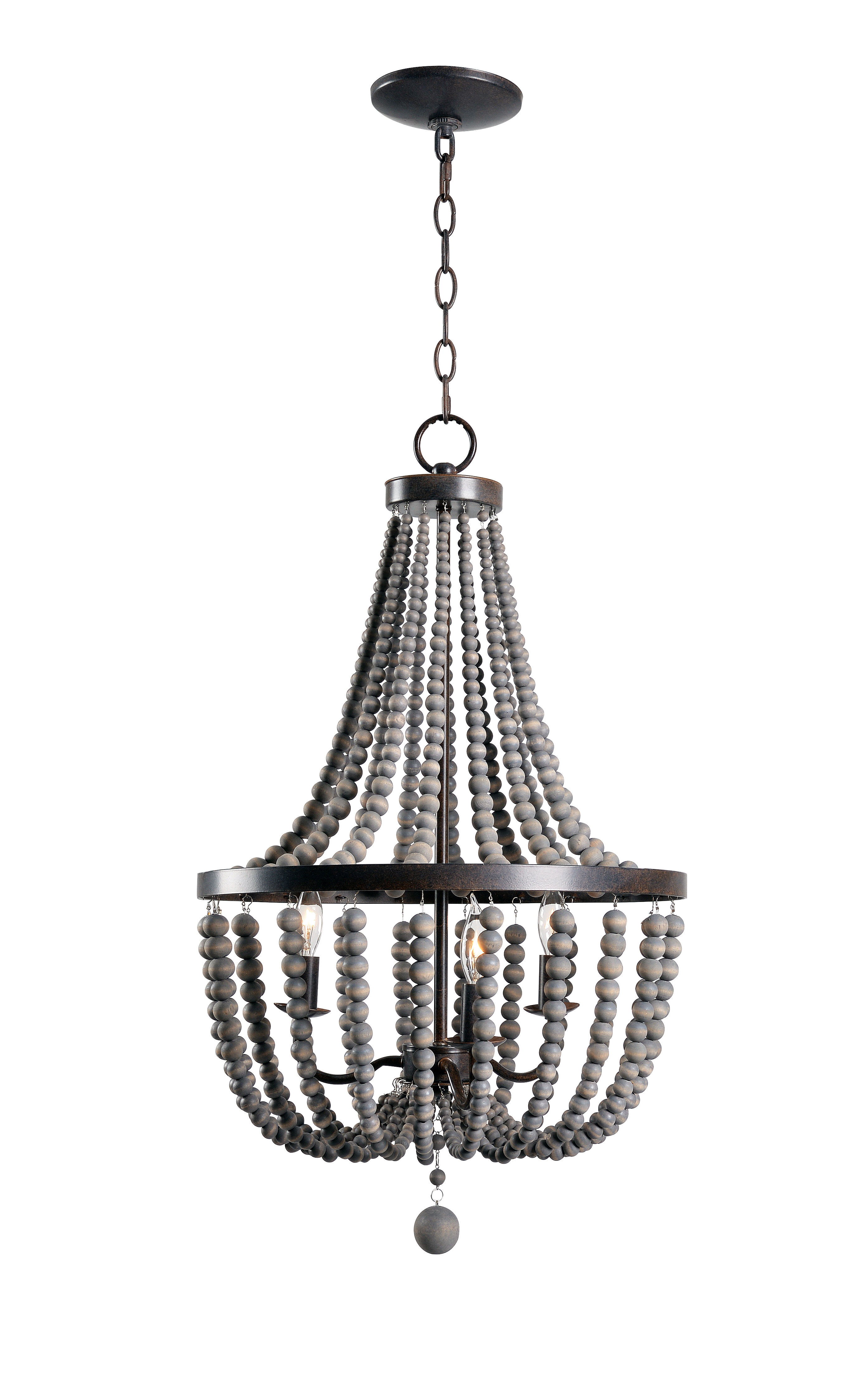 blaze company products chandelier michael white beaded paul bead