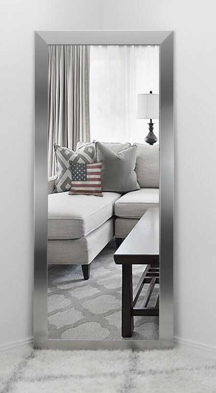 Wade Logan Modern Overmantel Wall Mirror & Reviews | Wayfair
