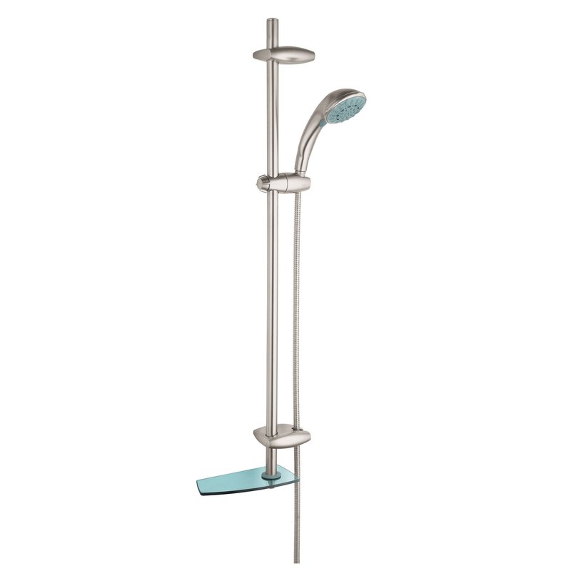 Movario Five Hand Shower Faucet Trim With SpeedClean Technology