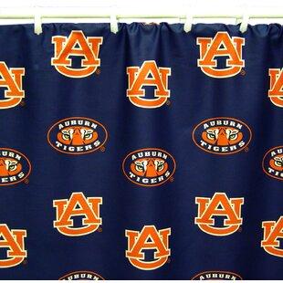 NCAA Auburn Cotton Printed Shower Curtain