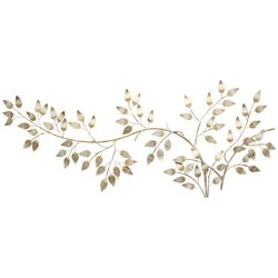 Twig Wall Decor stratton home decor flowing leaves wall décor & reviews | wayfair