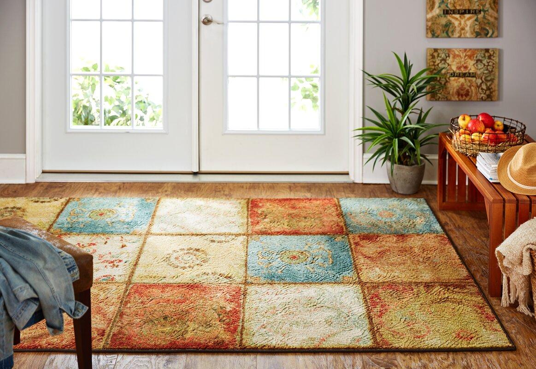 red barrel studio aftonshire red blue area rug reviews. Black Bedroom Furniture Sets. Home Design Ideas