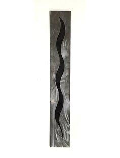 Décoration Murale En Métal Finition Noir Wayfairca