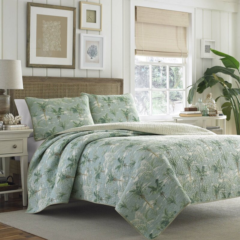 Anglers Isle Reversible Quilt Set By Tommy Bahama Bedding